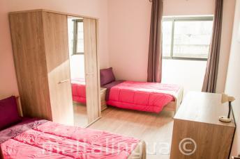 Комната на двоих проживание в апартаментах языковой школы на Мальте