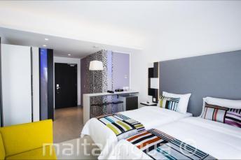 Современный гостевой номер в отеле Valentina, Мальта