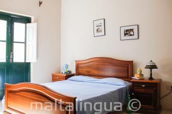 Спальня в принимающей семье в Сент-Джулиансе