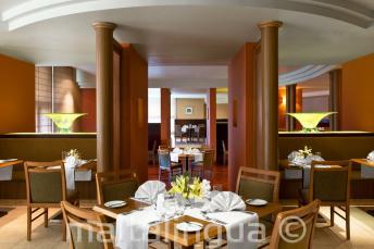 Ресторан в отеле Le Meridien, Сент-Джулианс