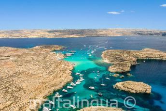 Фото Голубой Лагуны, Комино, Мальта