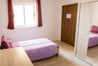 Проживание в одноместной комнате апартаментов языковой школы