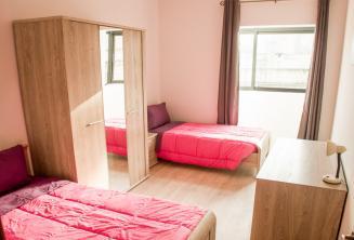 Проживание в двухместной комнате языковой школы на Мальте