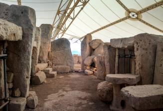 Исторические храмы в Ħaġar Qim