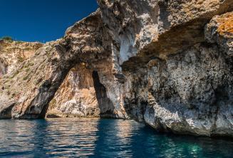 Морская арка в Голубом Гроте, Мальта
