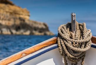 Нос традиционной мальтийской лодки
