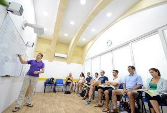 Кондиционированный класс в языковой школе на Мальте