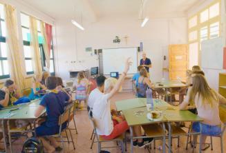 Класс в летней школе