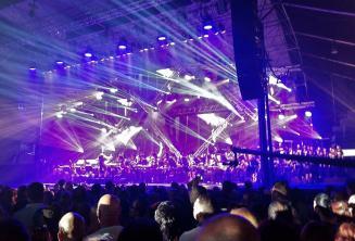 Симфонический рок-концерт Rockestra на Мальте
