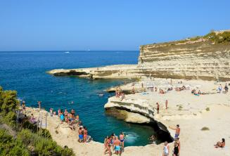 Вид на Бассейн St Peter's, Мальта