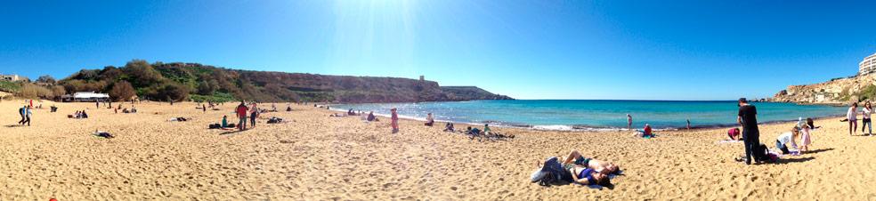 Golden Bay Malta 17.02.14